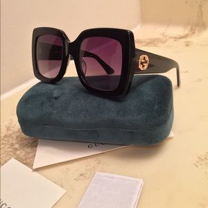Gucci acetate sunglasses